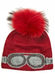 Adrienne Goggle Pom Hats - Product Mini Image