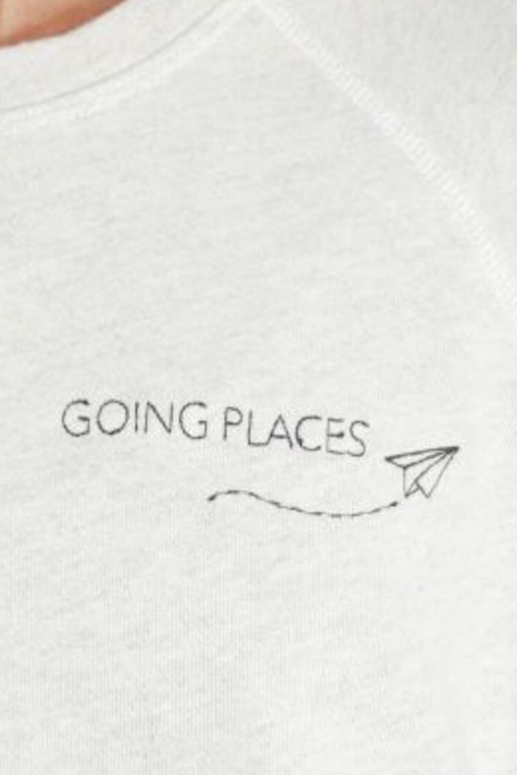 Good hYouman Going Places Sweater - Side Cropped Image