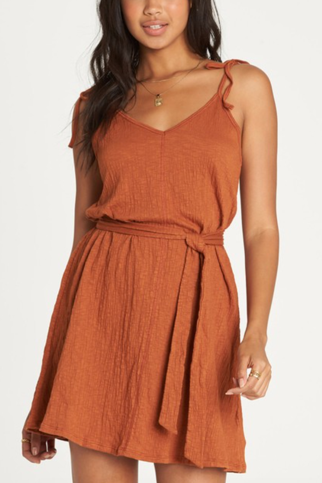Billabong Going Steady Dress - Front Cropped Image