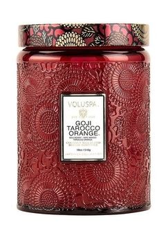 Shoptiques Product: Goji Tarocco Orange Large Jar Candle