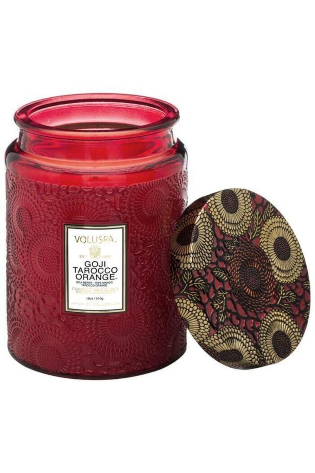 Voluspa Goji Tarocco Orange Large Jar Candle - Main Image