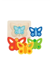 Goki 5 Layer Butterfly Puzzle Toy - Product Mini Image