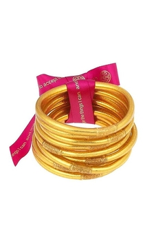 Shoptiques Product: Gold All Weather Bangles