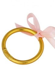 The Birds Nest GOLD BABY BANGLE-SMALL - Product Mini Image