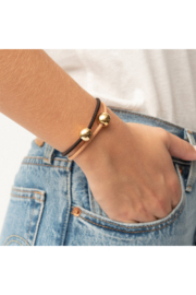 The Birds Nest GOLD BALL AND CHAIN HAIR TIES/BRACELETS - Product Mini Image