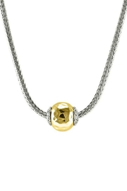 Embellish Gold Ball Necklace - Product Mini Image