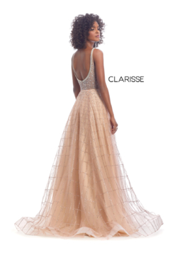 CLARISSE Gold Beaded Gown - Alternate List Image