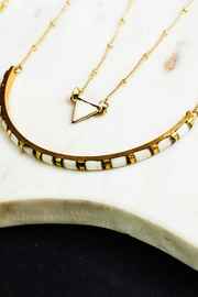 Mata Traders Gold Bone Necklace - Product Mini Image