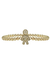Jaimie Nicole Gold Boy Bracelet - Product Mini Image