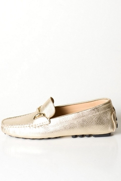 Pascucci Gold Buckle Loafer - Product List Image