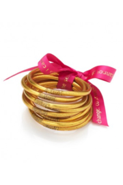 The Birds Nest GOLD BuDhaGirl BANGLES-SMALL(2.25