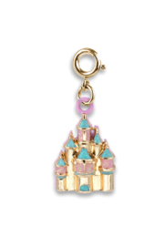 High Intencity Gold Castle Charm - Product Mini Image