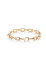 OMG Blings Gold Chain Bangle - Product Mini Image
