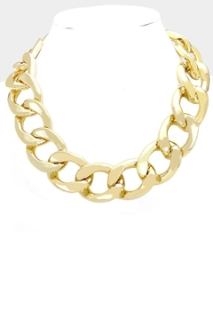 Embellish Gold Chain Necklace - Product List Image