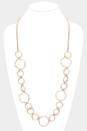 Embellish Gold Circle Necklace - Product Mini Image