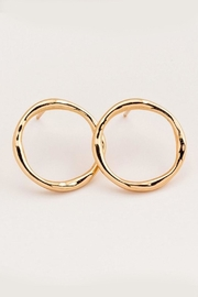 Gorjana Gold Circle Studs - Product Mini Image
