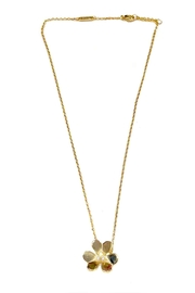 Lets Accessorize Gold Clover Necklace - Product Mini Image
