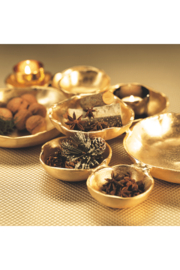 Zodax Gold Cluster Serving Bowls - Front full body