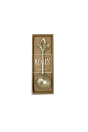 Roux Brands Gold Coffee Scoop - Front cropped