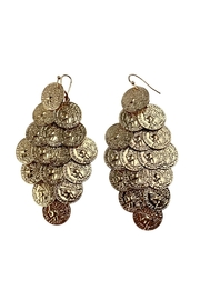 GHome2 Gold Coin Earrings - Product Mini Image