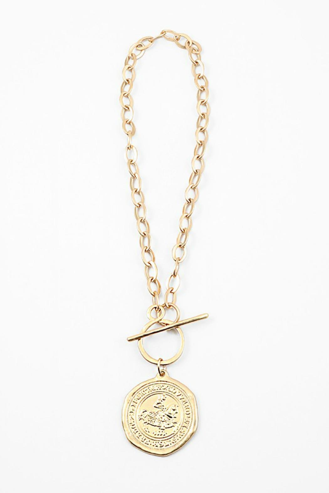 yiwuproducts bib coin necklace plate wholesale gold golden vintage trendy