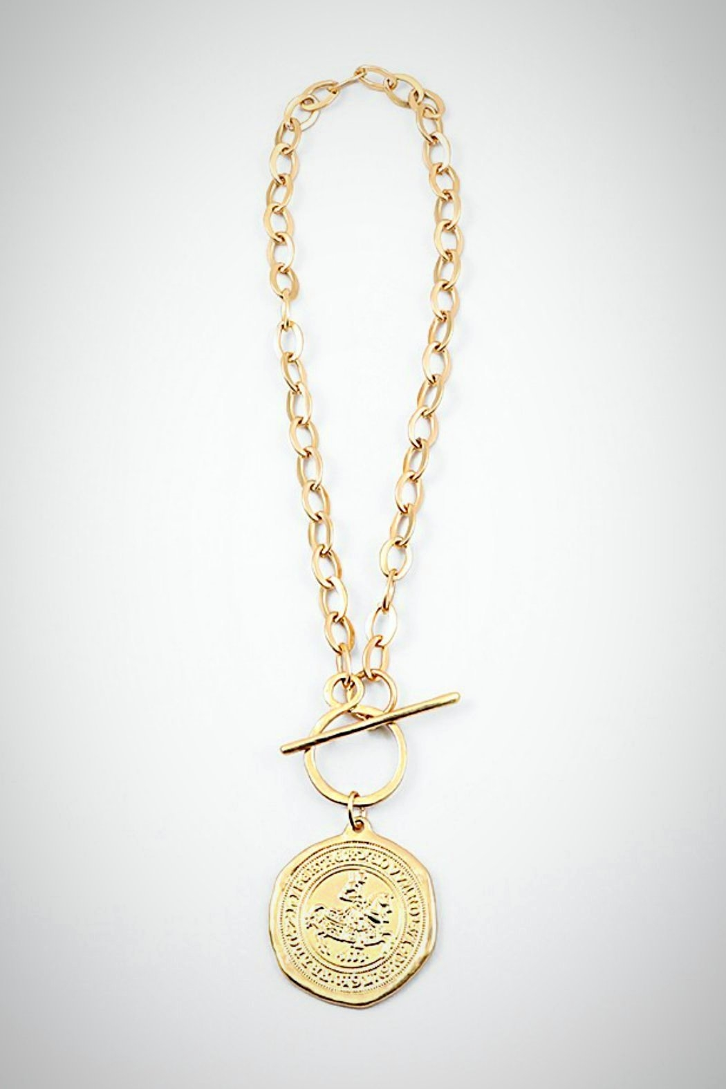 Embellish Gold Coin Necklace from Pennsylvania by ...