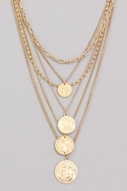 Wild Lilies Jewelry  Gold Coin Necklace - Product Mini Image