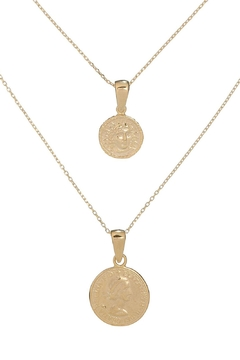 Shoptiques Product: Gold Coin Necklace