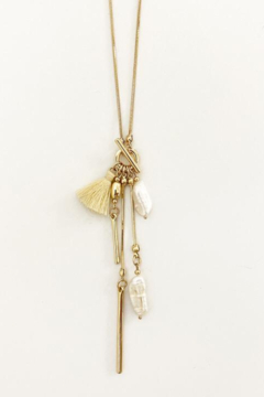 Caracol Gold collier necklace - Alternate List Image