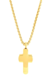 Made It! Gold Cross Necklace - Product Mini Image