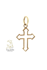 CDO  Gold Cross Pendant - Product Mini Image