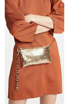 Whiting and Davis Gold Crystal Beltbag - Product List Image