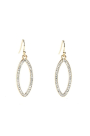 Giftcraft Inc.  Gold Dangle Earrings - Front cropped