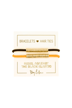 The Birds Nest GOLD DISC HAIR TIES/BRACELETS (SET 2) - Product List Image