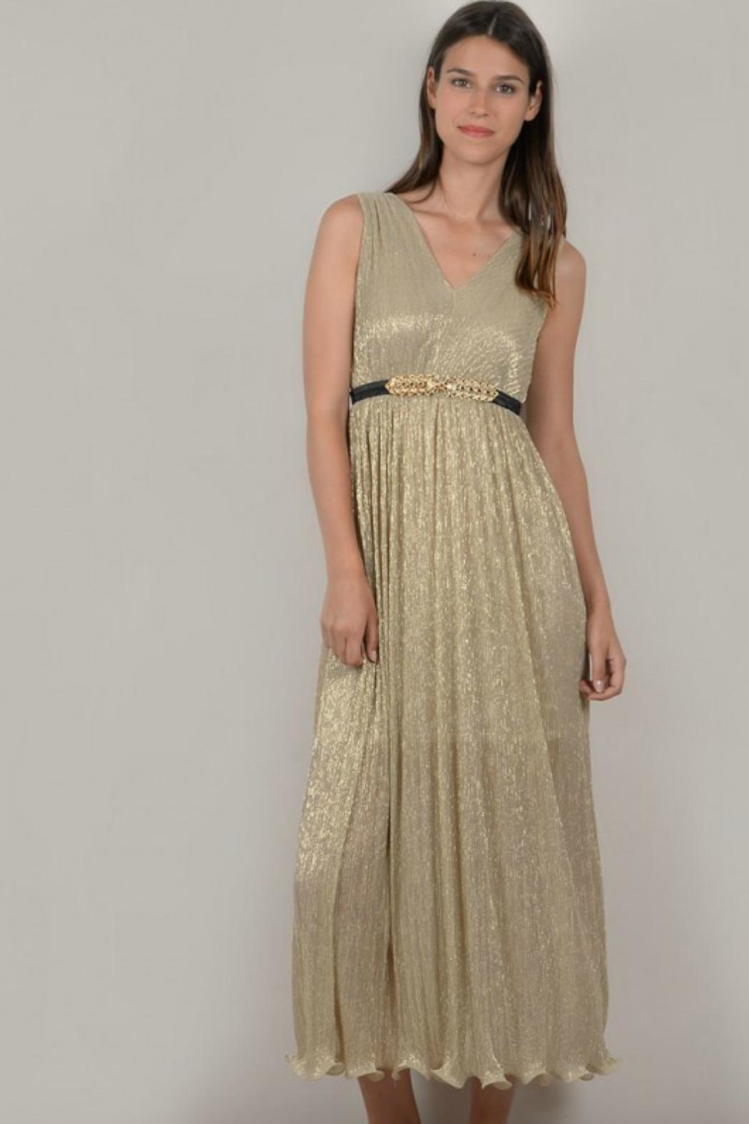 bfca0bfc74ef9 Molly Bracken Gold Dress from Canada by LaBelle — Shoptiques