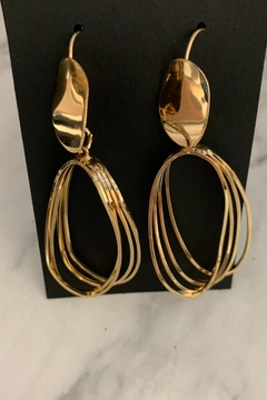 0-105 Gold Earrings - Alternate List Image