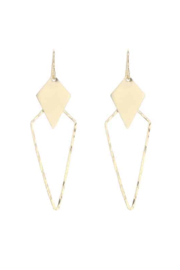Lotus Jewelry Studio Gold Estelle Earrings - Front cropped