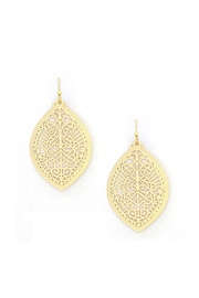 Wild Lilies Jewelry  Gold Filigree Earrings - Product Mini Image