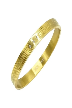 Made It! Gold Fitted Bracelet - Product List Image