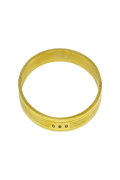 Made It! Gold Fitted Bracelet - Alternate List Image