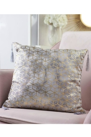 Gift Craft Gold-Foil Print Pillow - Product Mini Image
