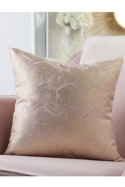 Gift Craft Gold-Foil Print Pillow - Front cropped