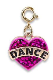 Charm It Gold Glitter Dance Charm - Product Mini Image