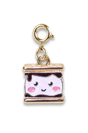 Charm It Gold Glitter S'mores Charm - Product Mini Image