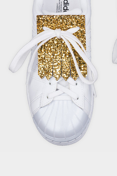 Fringe You Gold Glitter Shoe Fringe - Alternate List Image