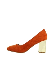 Oscar & Maya Gold-Heel, Suede, High-Heel - Product Mini Image
