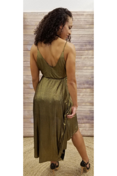 Lush Gold Hi-Low Maxi - Alternate List Image