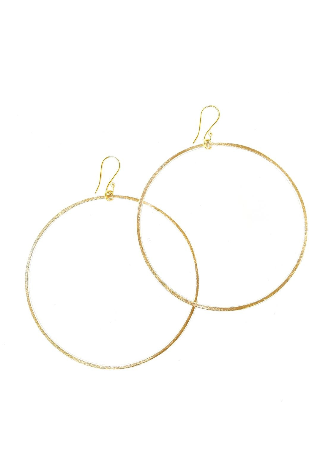 Fabulina Designs Gold Hoop Earrings - Main Image