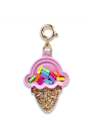Charm It Gold Ice Cream Charm - Product Mini Image