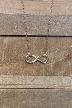 Allie & Chica Gold Infinity Necklace - Alternate List Image